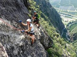 Tour guidata alla via ferrata