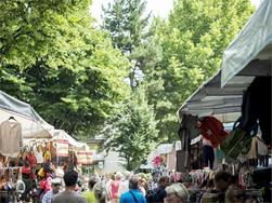 Large Friday Market in Merano