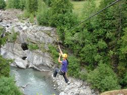 Tarzaning in the Passeier Valley