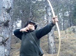 Archery like it was in Ötzi's day