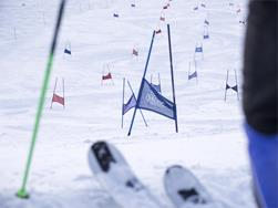 Guest ski race and night skiing at the Glockenlift ski lift