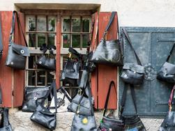 moni.B Bags & Accessories made of tractor inner tubes