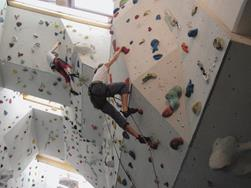 Indoor climbing gym in S. Martino / St. Martin