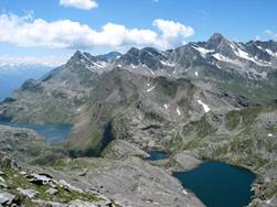 Spronser lakes - hiking tour from Pfelders/Plan