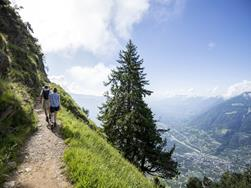 Walking tour: Meraner Höhenweg - Alta Via di Merano