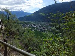 From Partschins to the Sonnenberg Mountain Panoramic Trail Naturno