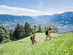 Merano High Mountain Trail: Hike from Matatz to the Hochmuth