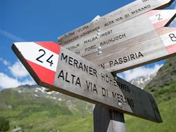 Merano High Mountain Trail Stage Suggestion No. 5: from Pfelders/Plan to Matatz