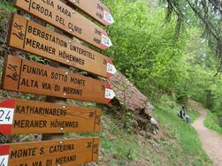 Merano High Mountain Trail Stage Suggestion No. 3: from Monte S. Caterina/Katharinabger to Mountian pasture Eishof