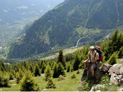 Merano High Mountain Trail 3rd stage: Eastwards – from Hohe Wiege up to the Hochganghaus Mountain Hut