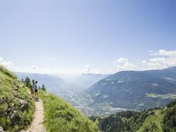 Circular hike along the Merano High Mountain Trail