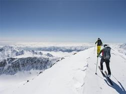 Ski moutaineering to Texelspitze