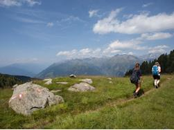 European Hiking Route E5 in the Passeiertal Valley