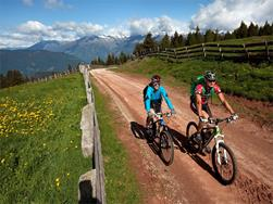 Mountain bike tour to the Vöraner Alm Mountain Hut