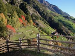 Merano High Mountain Trail - 1 stage: The Gorge of 1.000 Steps to Katharinaberg, in Senales Valley/ Schnalstal