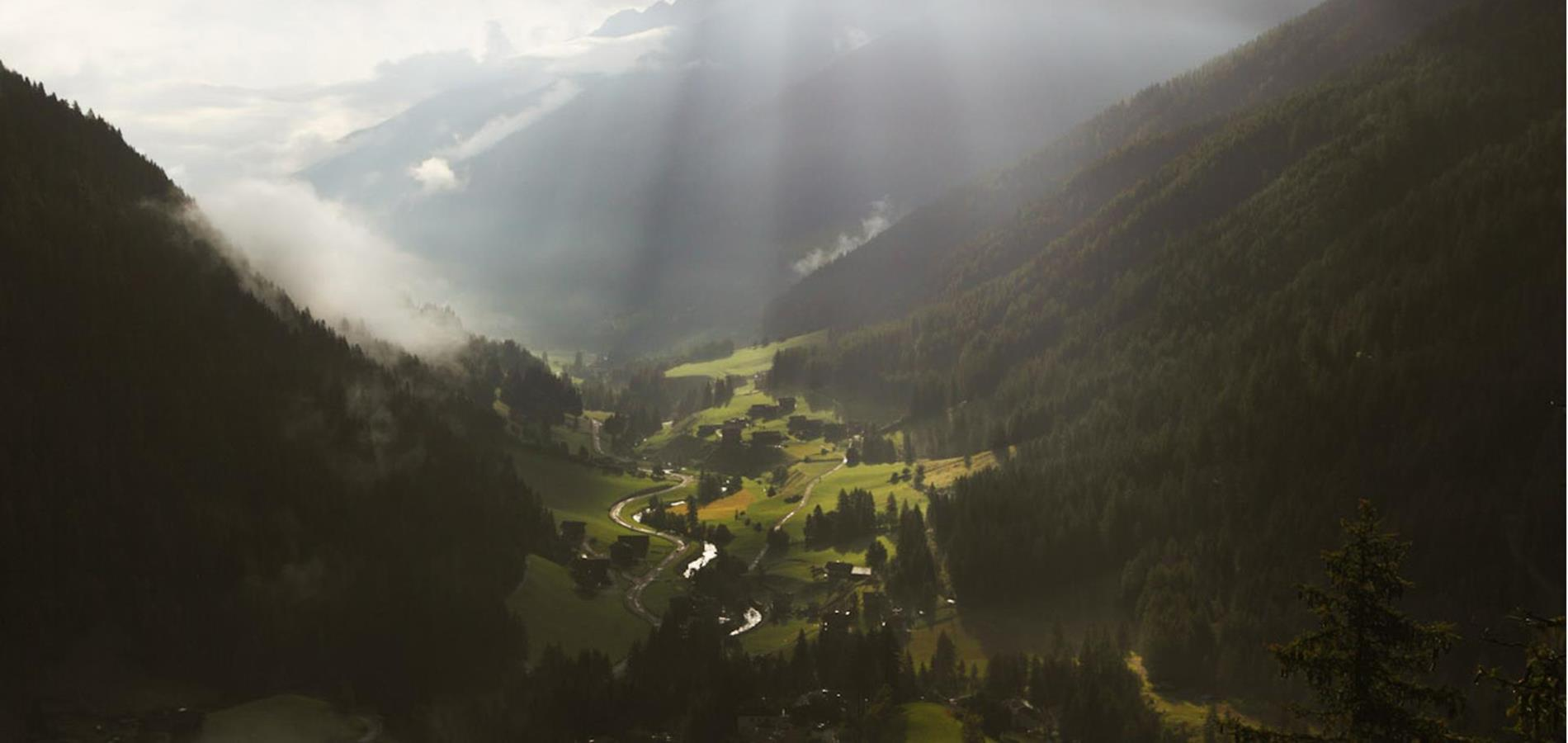 How to Reach the Ultental Valley