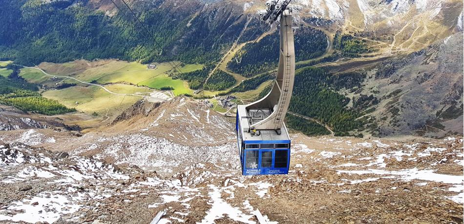 Schnalstal Valley Cable Car