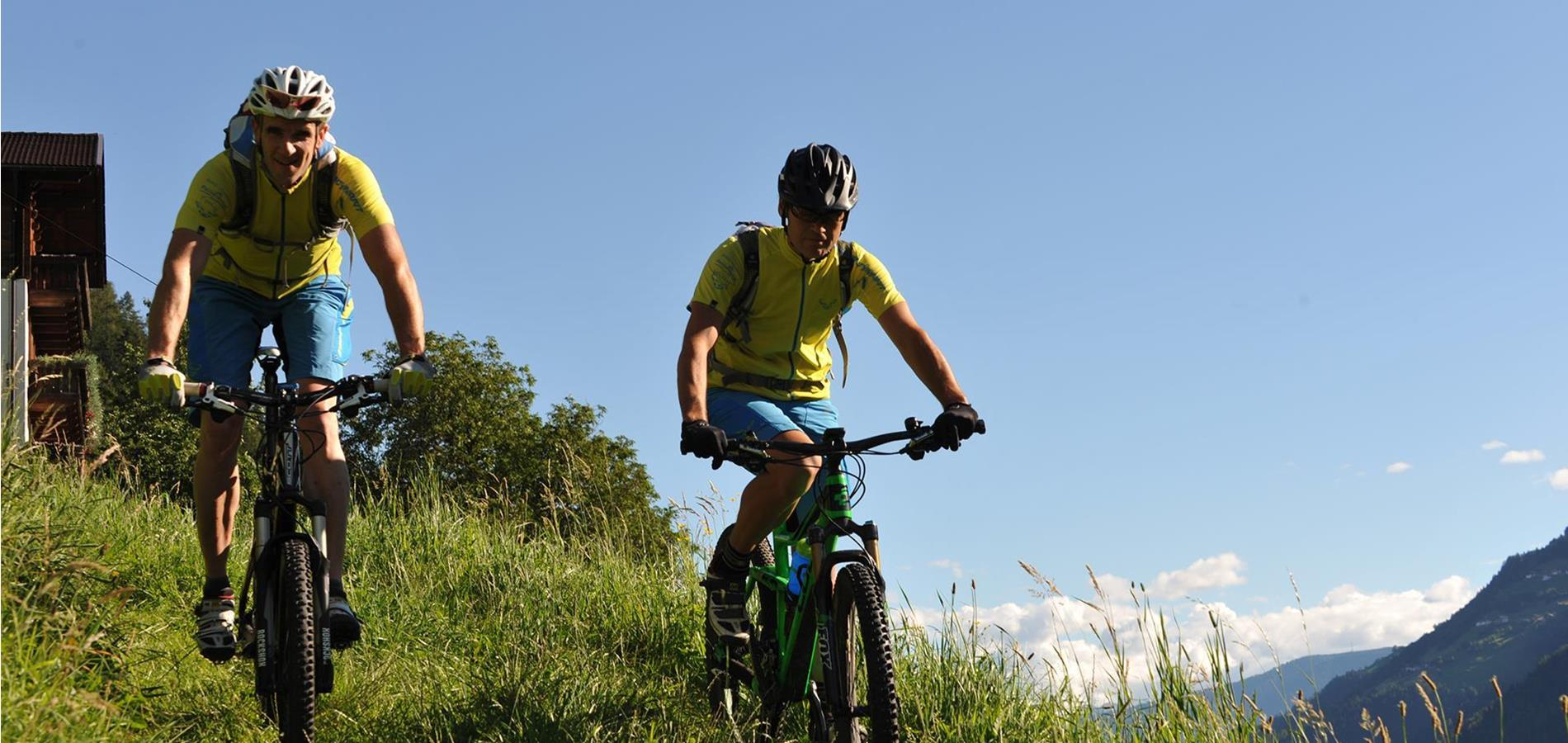 Cycling & mountain biking in Val Passiria Valley