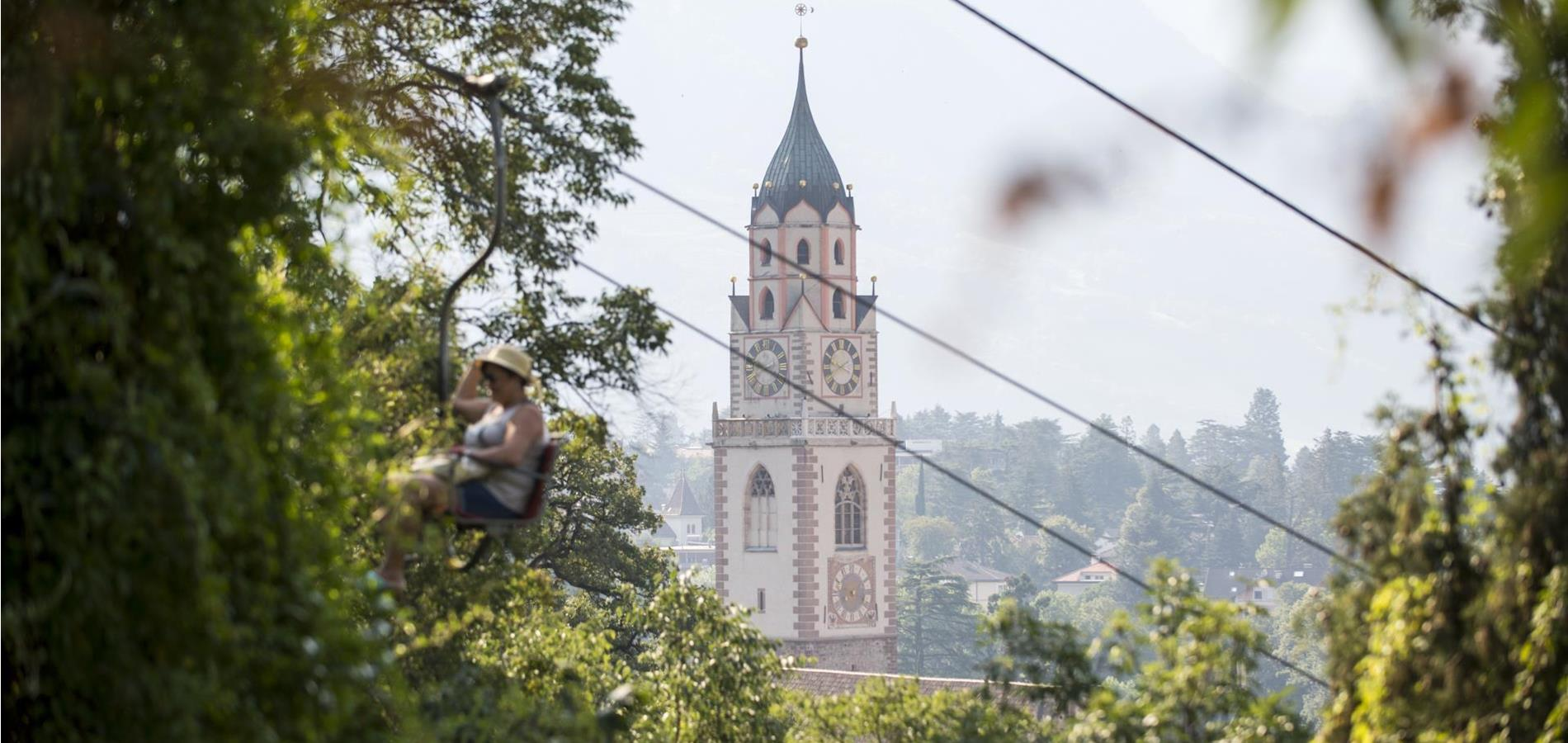 Cable Cars and Chairlifts in Merano